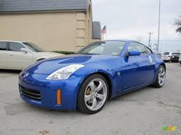 Nissan 350z Blue - 2007 daytona blue metallic nissan 350z grand touring coupe