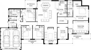 Single Storey Floor Plans The Southampton Four Bed Single Storey Home Design Plunkett Homes