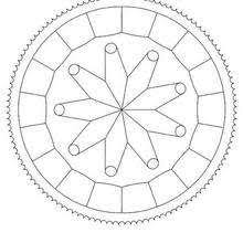 mandalas beginners coloring pages printable coloring pages