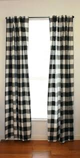 Brown Gingham Curtains Gingham Check Curtains Large Buffalo Gingham Check Drapery By