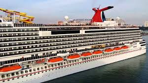 after week at sea cruise ship docks in galveston carnival
