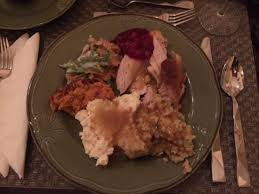 thanksgiving meal plate picture of mimi s restaurant lake