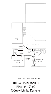 Second Story Floor Plans by Morrisonville House Plan House Plans By Garrell Associates Inc