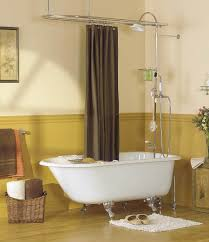 Clawfoot Bathtub Shower Curtain Rod Antique Bathtubs Period Plumbing Fixtures Sunrise Specialty