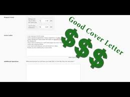 كيفية كتابة cover letter ناجح odesk upwork 5 youtube