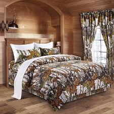 amazon com the woods white camouflage queen 8pc premium luxury