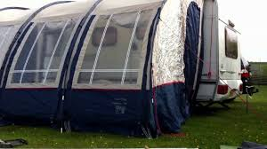 Starcamp Porch Awning Caravan Awning Being Put Up In Record Time Subscribe For More