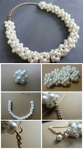 Jewelry Making Design Ideas 17 Useful And Pretty Diy Ideas For Necklace Diy Necklace Pearl