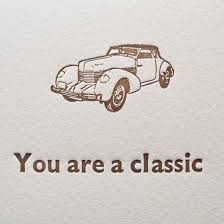 fresh the press classic car birthday cards forme
