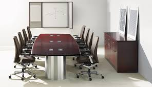 Teknion Conference Table Teknion Custom Wood Conference Vangard Concept Offices