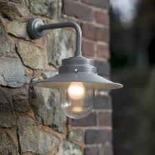Barn Light Originals by Large Exterior Wall Light With Round Shade Barn Outside