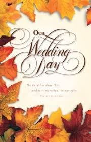 fall wedding programs 11 best fall wedding program ideas images on fall
