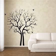 bonzai tree wall stickers for living 2017 with room paint stencils