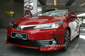 toyota arabalar facelifted 2017 toyota corolla altis previewed ahead of debut