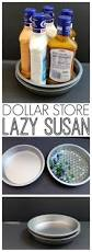 lazy susan for kitchen cabinet dollar store lazy susan organizing idea the country chic cottage