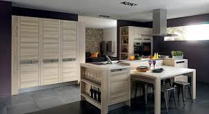 cuisine contemporaine en bois cuisine moderne en bois