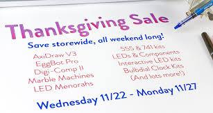 thanksgiving weekend sale evil mad scientist laboratories