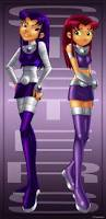 Teen Titans Halloween Costumes Sides Star Blackfire Teentitans Deviantart Teen
