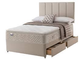 the sleep shop 4ft6 double silentnight miracoil geltex pillow top