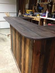 diy pallet outdoor bar and stools