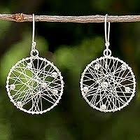 thailand earrings sterling silver dangle earrings sterling silver