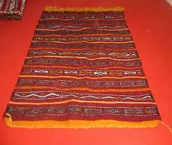 tappeto etnico tappeto kilim berbero arazzo etnico orientale africano marocco