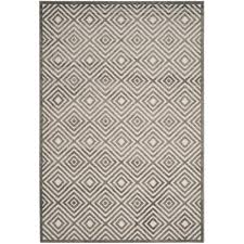 Safavieh Outdoor Rugs Safavieh Cottage Cream Gray 4 Ft X 6 Ft Indoor Outdoor Rectangle