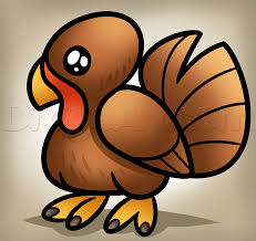 learn how to draw a simple turkey thanksgiving seasonal free