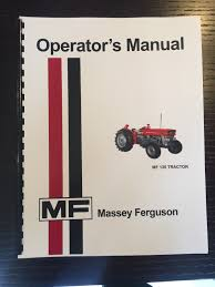 massey ferguson mf 135 tractor owners operators manual u2022 20 06