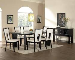 modern glass dining room sets yellow furnitures glass table