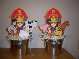 farm or barn animal birthday party centerpiece sam u0027s 1st