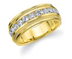 mens gold wedding band mens gold ring with diamonds mens diamond rings mens diamond