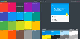 minimalist color palette 2016 trendy web color palettes and material design color schemes tools