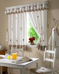 Simple Kitchen Curtains by Modern Kitchen Curtains Kitchentoday