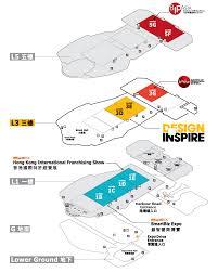 designinspire 2017 hall plan