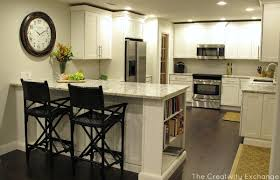 u shaped kitchen remodel ideas before and after subway tile gym