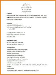 Sous Chef Resume 100 Sous Chef Resume Template Executive Summary And Technical
