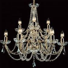 Czech Crystal Chandeliers Crystal Twist Long Lightstyle Interiors
