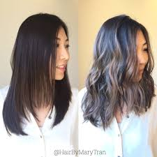hair highlight for asian ashy brown highlights on dark asian hair yelp