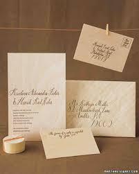 easy ways to upgrade your wedding invitations martha stewart