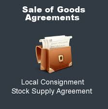 sale of goods agreement legal consulting