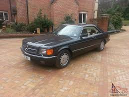 mercedes 560 sec coupe for sale 1988 mercedes 560 sec auto black w126 leather v8 s class coupe not