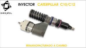inyector caterpillar c10 c12 youtube