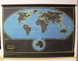 Pull Down World Map by Stiles Fischer Interior Design Obsessed