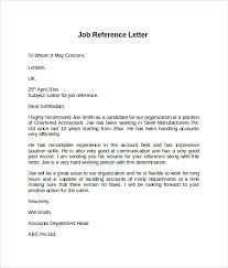 Resume Reference Samples by Example Of Reference Letters Sample Reference Letter Example