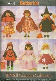 Butterick Halloween Costume Patterns 51 Butterick Doll Patterns Images Doll