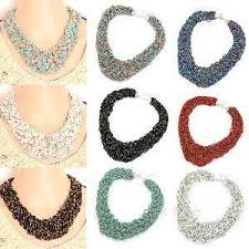 bead necklace ebay images Handmade necklace ebay JPG
