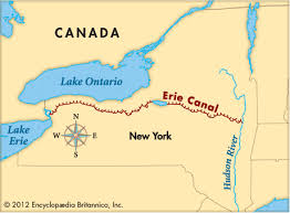 map of the erie canal map still erie canal westward expansion