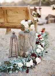 winter wedding decorations 25 winter wedding aisle décor ideas deer pearl flowers