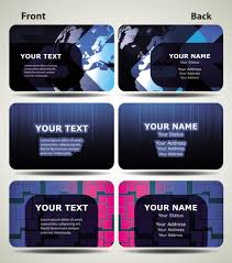 corel draw business card template free vector download 116 696